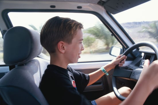 Six-Year-Old Gives Himself License to Drive