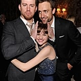In June, Channing Tatum had fun with Joey King and his partner Reid Carolin at the White House Down afterparty in NYC.