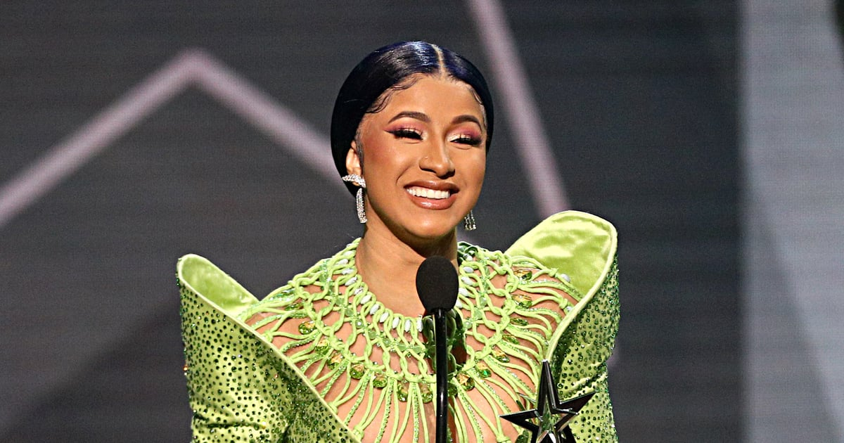 Cardi B Just Honored Her Daughter in the Most Cardi Way: On Her Nails