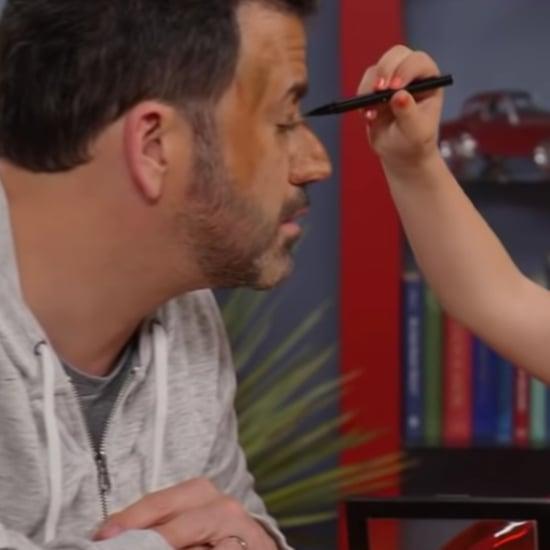 Jimmy Kimmel's Goddaughter Makeup Tutorial