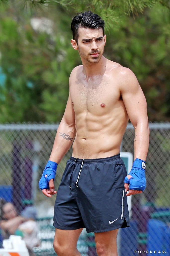 "Joe Jonas rang in his 30th birthday on Aug. 15, and what better way to celebrate than with a look at some of his sexiest moments. From red carpet appearances to shirtless vacation snaps, we're ""burnin' up"" just thinking about them! Joe tied the knot with Sophie Turner earlier this year, and it's clear she's one lucky lady. Scroll through Joe's hottest moments ahead, and if you're still craving more, catch him on the Jonas Brothers' Happiness Begins tour.      Related:                                                                                                                                Get Ready to Dance in Your Living Room as You Watch the Jonas Brothers' ""Only Human"" Video"