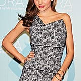 Miranda Kerr attended a KORA Organics by Miranda Kerr press conference in Tokyo on Monday.