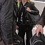 Madonna at Heathrow