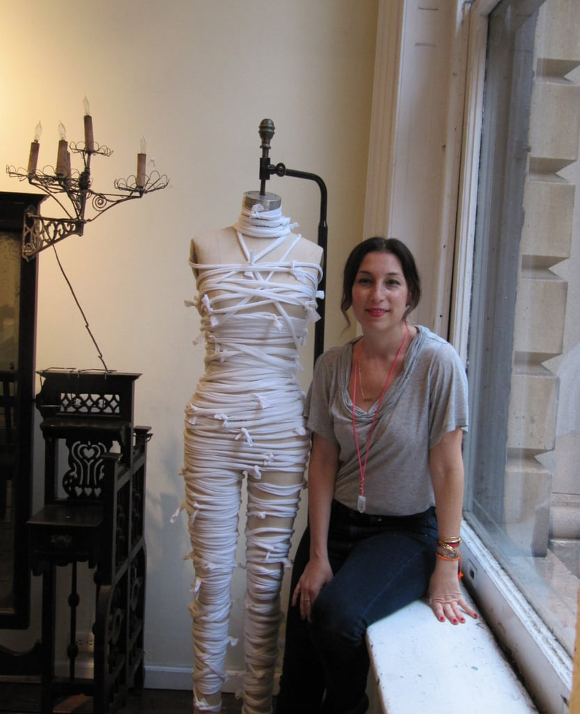 Make Your Own Mummy DIY Halloween Costume