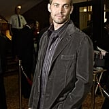 Paul attended the LA premiere of Timeline in November 2003.