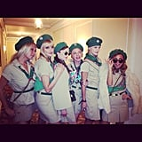 Nicole Richie and friends went as the cutest girl scouts around from Troop Beverly Hills.  Source: Instagram user sofifiicom