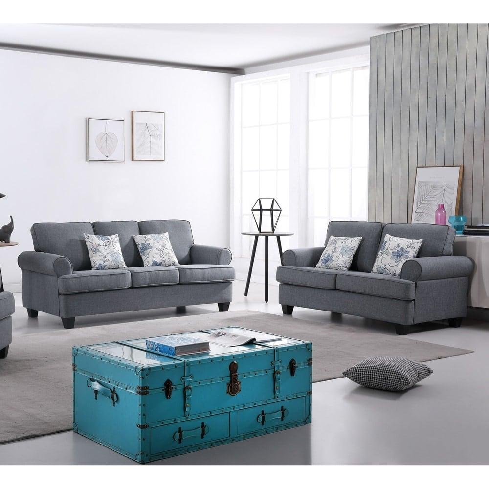 US Pride Furniture Manning 2 Piece Living Room Set   Best Furniture ...