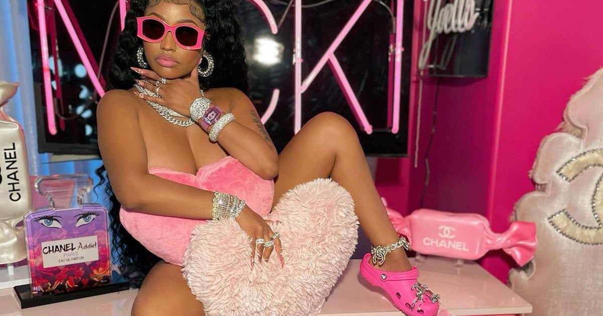 Nicki Minaj and the Curious Case of Her Pink Chanel Crocs
