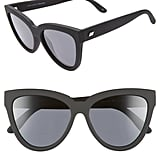 Le Specs Liar Liar Polarized Cat Eye Sunglasses