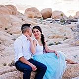 جلسة تصوير زفاف مستوحاة من علاء الدين