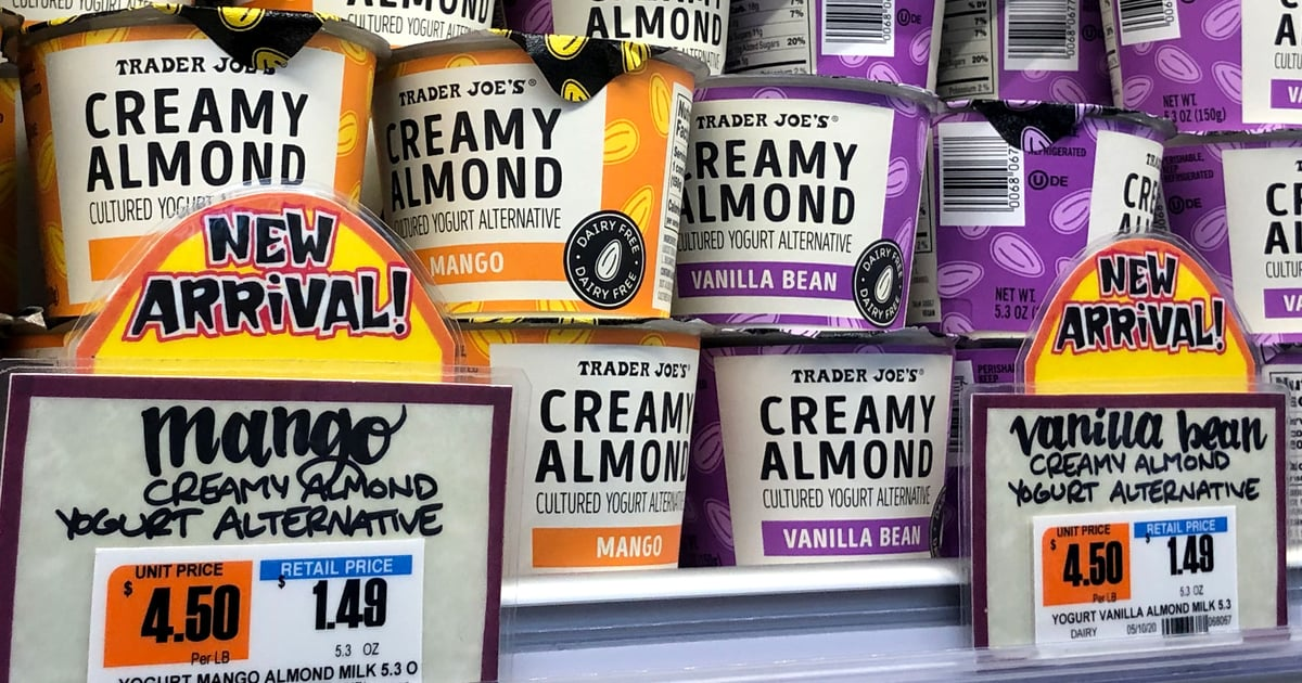 Vegans, Get Excited! Trader Joe's Has a New Dairy-Free Almond Milk Yogurt — but Is It Good?