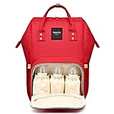 Best overall pick: HaloVa Diaper Bag Multi-Function Waterproof Travel Backpack