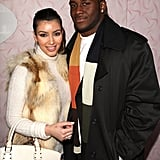 Kim Kardashian and her then-boyfriend Reggie Bush made the party rounds during the Sundance Film Festival in January 2008.
