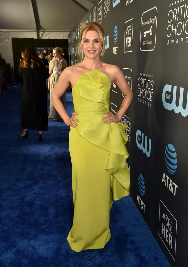 Rhea Seehorn at the 2019 Critics' Choice Awards