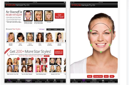 App: InStyle Hairstyle Try-On Cost: Free Why we love it: You can ...