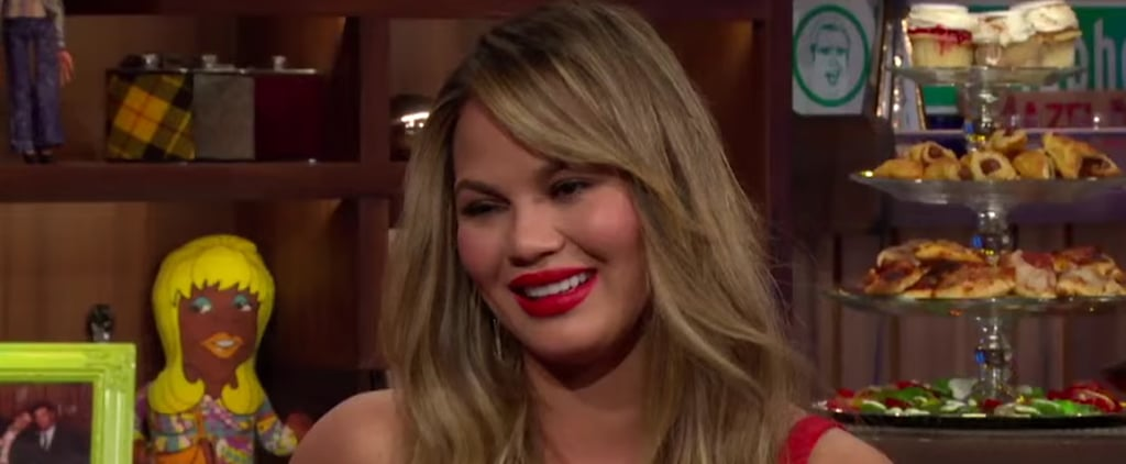 Chrissy Teigen Explains Her Oscars Cringe Face | Video