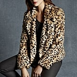 """While all the girls get their bombers embroidered, I'm working on showing my feminine side. I've never had a leopard coat, but I love that Karen Millen's is faux ($599) and cropped, so that it doesn't overtake my entire outfit."" — SW"
