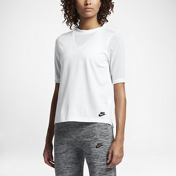 Nike Sportswear Bonded Half-Sleeve Top