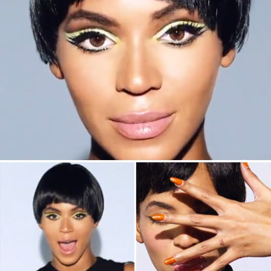 "Beyoncé's Mod ""Countdown"" Video Beauty Look"