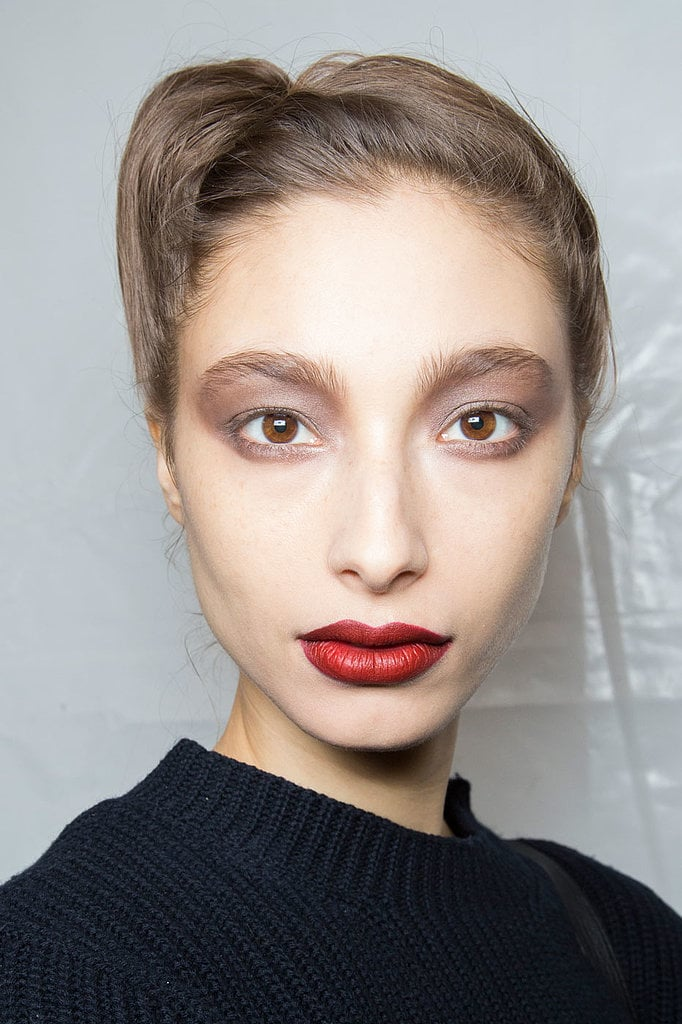New Makeup Brushes: Fall 2015 New York Fashion Week Hair And Makeup