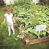 Arabella Kushner spent some time in her secret garden.  Source: Instagram user ivankatrump
