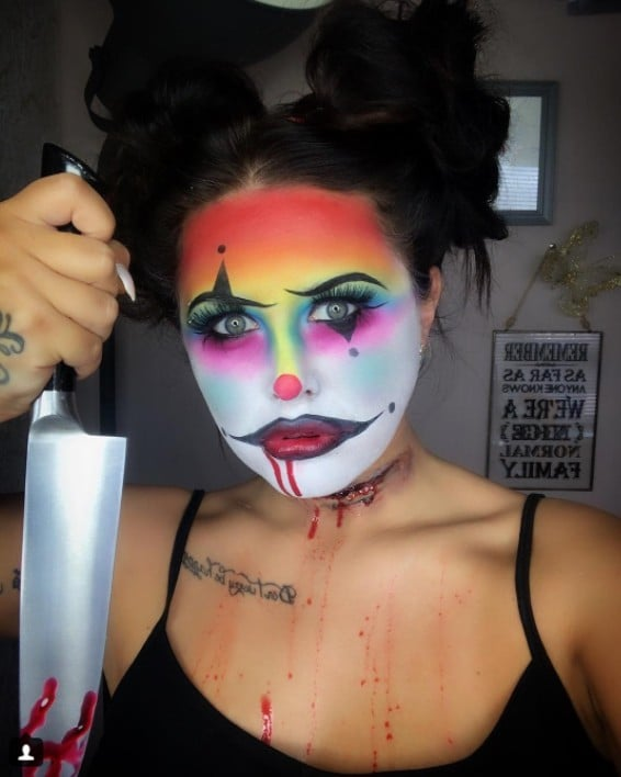 Halloween Clown.Clown Halloween Makeup Popsugar Beauty