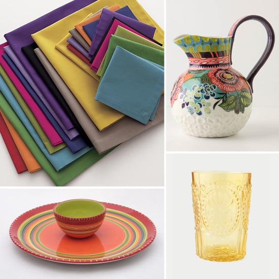 Colorful Serveware For Spring Entertaining