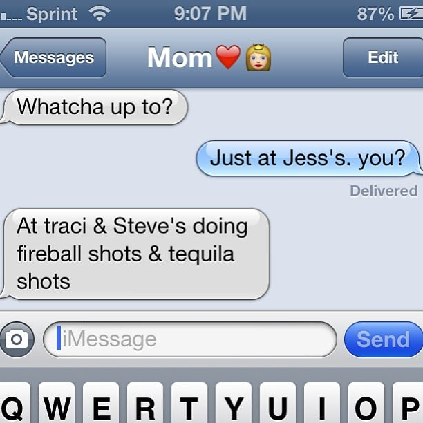 Image of: Disney Funny Texts From Mums Youtube Funny Texts From Mums Popsugar Australia Tech