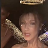 Bella Hadid Tries Curtain Bangs at Cannes 2019