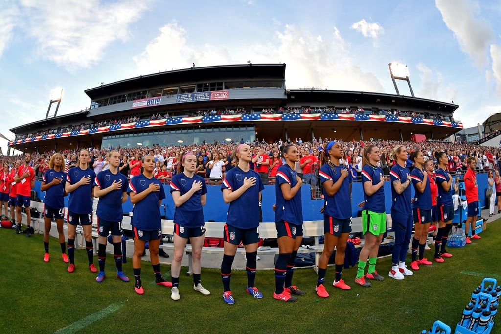 USWNT Wore Inside Out Shirts Protesting US Soccer Federation