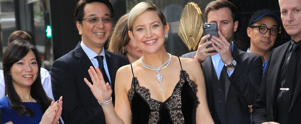 Kate Hudson at Harry Winston Event After Pregnancy News