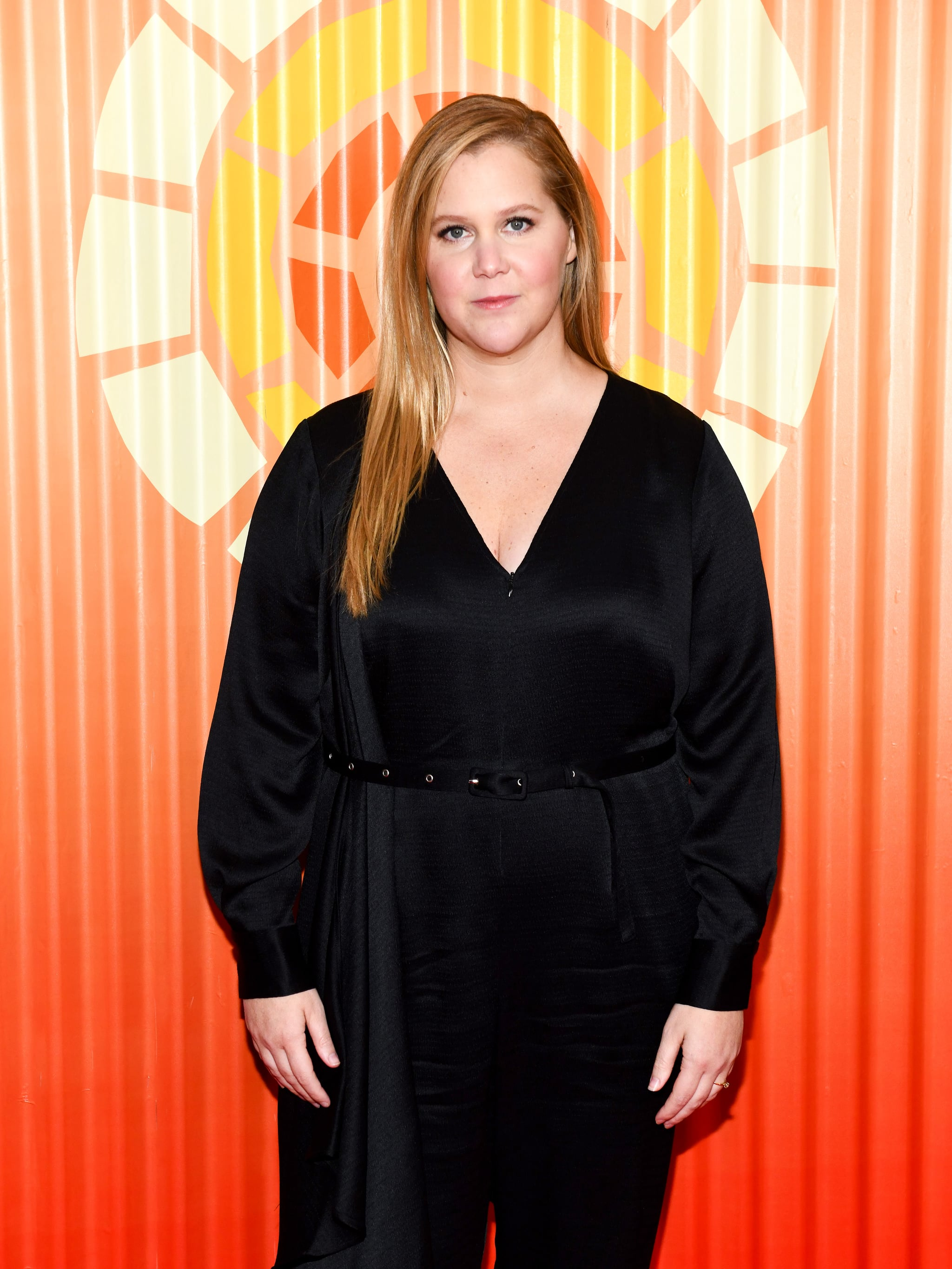 NEW YORK, NEW YORK - NOVEMBER 12: Amy Schumer attends Charlize Theron's Africa Outreach Project Fundraiser at The Africa Center on November 12, 2019 in New York City. (Photo by Noam Galai/WireImage)