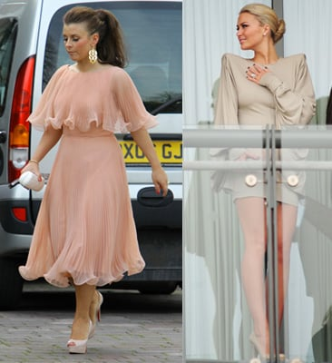 Photos Of Coleen Rooney And Alex Curran At The 2010 Grand National Aintree