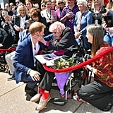 Prince Harry Introduces Meghan Markle to Daphne Dunne 2018