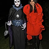 Jack Whitehall and Gemma Chan definitely didn't opt for couples costumes when they attended Jonathan Ross's 2013 party.