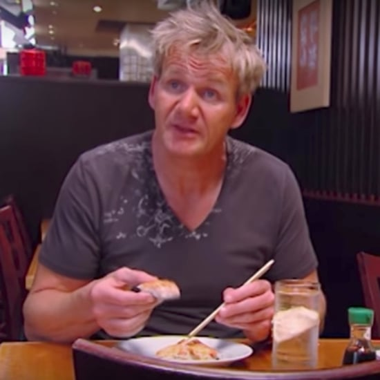 Video of Gordon Ramsay Spitting Out Sushi Pizza