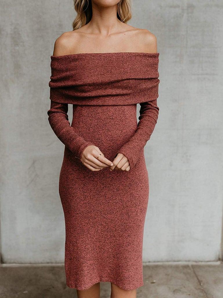 Fisace Off-Shoulder Dress