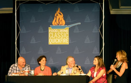 Photos of Rick Bayless vs. Michael Voltaggio at the 2010 Food & Wine Classic Quickfire