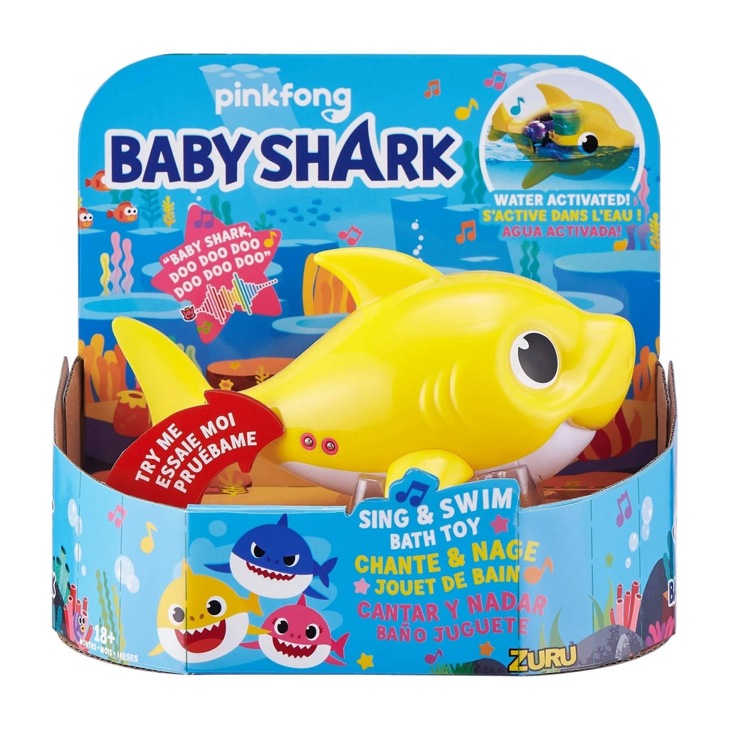 Robo Alive Junior Baby Shark Battery-Powered Sing and Swim Bath Toy —Baby Shark