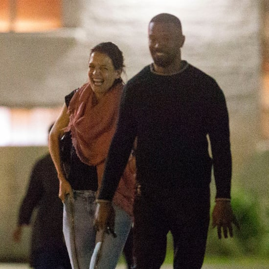 Jamie Foxx and Katie Holmes in New Orleans December 2018