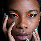 Chromat's Ombré Curved Line Nails at NYFW Autumn 2020