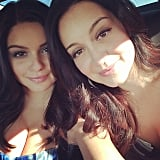 Ariel Winter took a picture en route to the SAG Awards. Source: Instagram user arielwinter