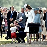 Prince Charles With His Grandchildren Pictures