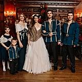 Game-of-Thrones-Themed Christmas Wedding