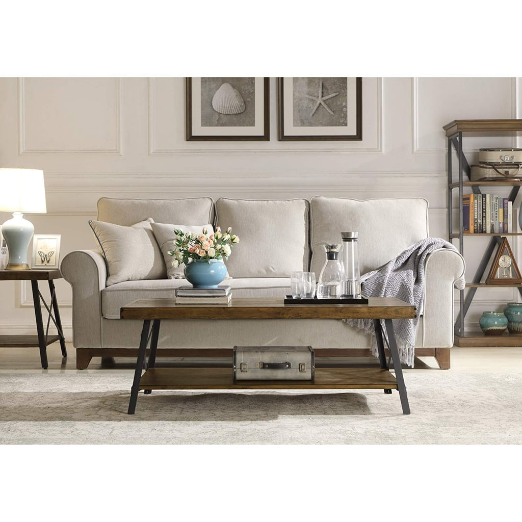 Emerald Home Chandler Rustic Coffee Table