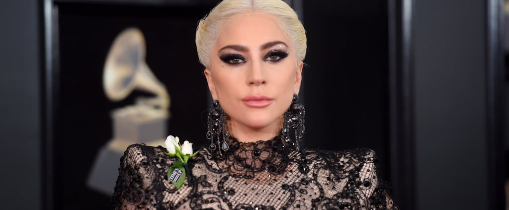 Lady Gaga Posts Throwback Photo With Black Hair