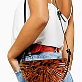 Topshop Cancun Acrylic Cross Body Bag
