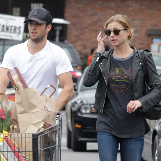 Emily VanCamp and Joshua Bowman Grocery Shopping