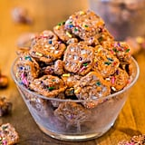 Peanut Butter and Nutella Snack Mix