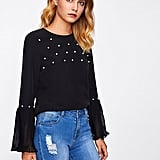 Floerns Flare Blouse